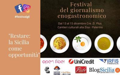 Festival del giornalismo enogastronomico Sicilia